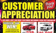 - Direct Mail – Customer Appreciation
