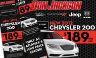 - Retargeting Campaign – Chrysler