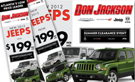 - Retargeting Campaign – Jeep
