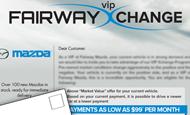 - Direct Mail – Fairway Mazda