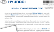 - Direct Mail – Taylor Hyundai