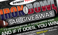 - Logo/Newspaper Ad – Lynch Toyota