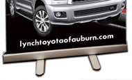- In-Store Signage – Lynch Toyota