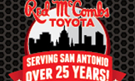 - Web Banner Ad – Red McCombs Toyota