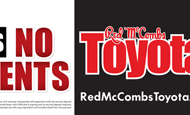 "- Outdoor – Red McCombs Toyota ""6 Months"""