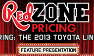 "- E-Mail Blast – Red McCombs Toyota ""Red Zone Pricing"""