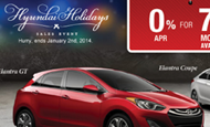 "- Direct Mail – Taylor Hyundai ""Hyundai Holidays"""