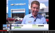 """- Terry Cullen """"Knockdown Dealer"""" Car Dealer Commercial"""