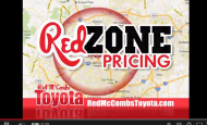 "- Red McCombs Toyota ""Red Zone"" Car Dealer Commercial"