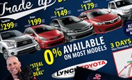- Direct Mail – Lynch Toyota