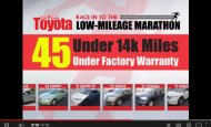 """- Red McCombs Toyota """"Low Mileage Marathon"""" Car Dealer Commercial"""