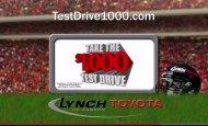 "- Lynch Toyota of Auburn ""Clearance Event"" Car Dealer Commercial"