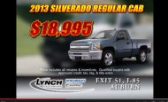 "- Lynch of Auburn ""Truck Month"" Car Dealer Commercial"