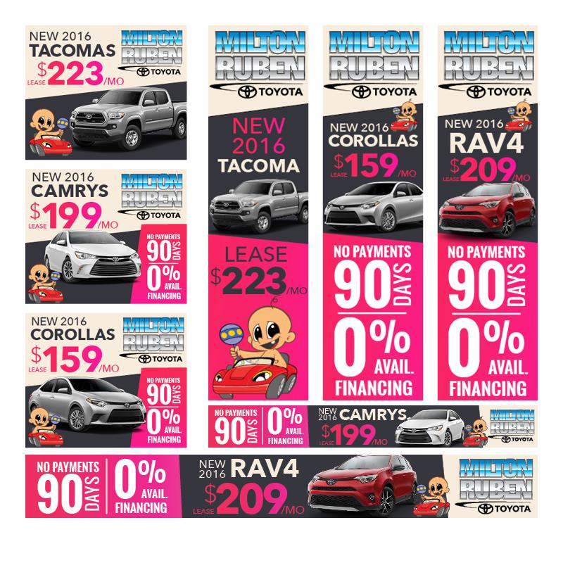- Toyota Lease | Digital Ads
