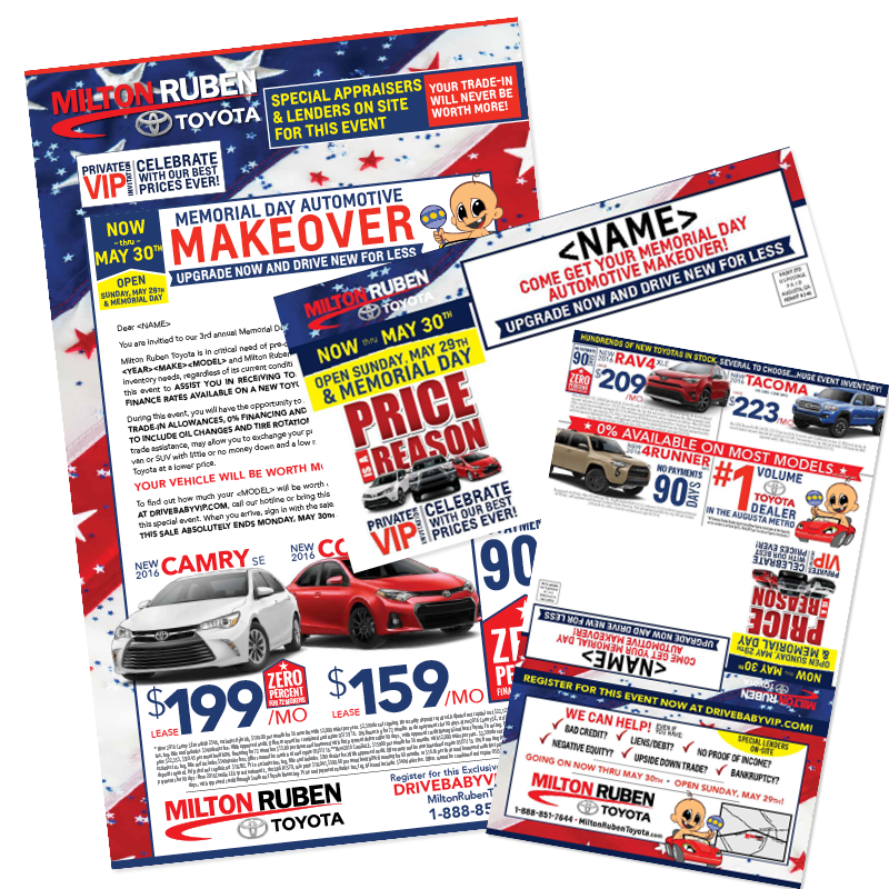 - Memorial Day Makeover | Direct Mailer