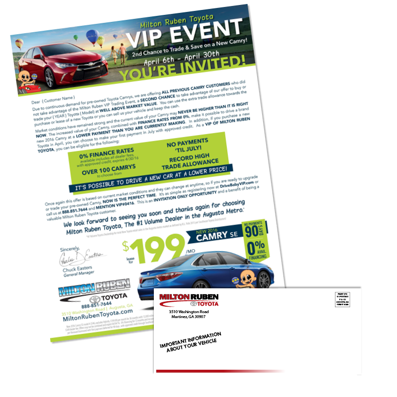 - VIP Event | Direct Mailer