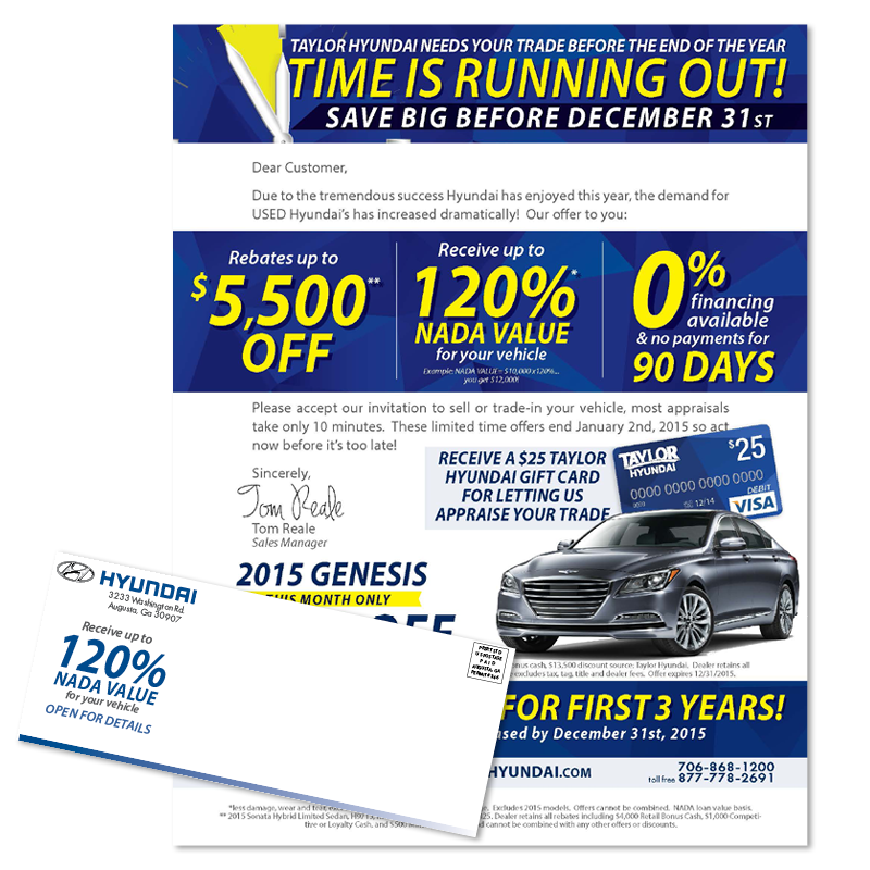 - Time is Running Out | Direct Mailer