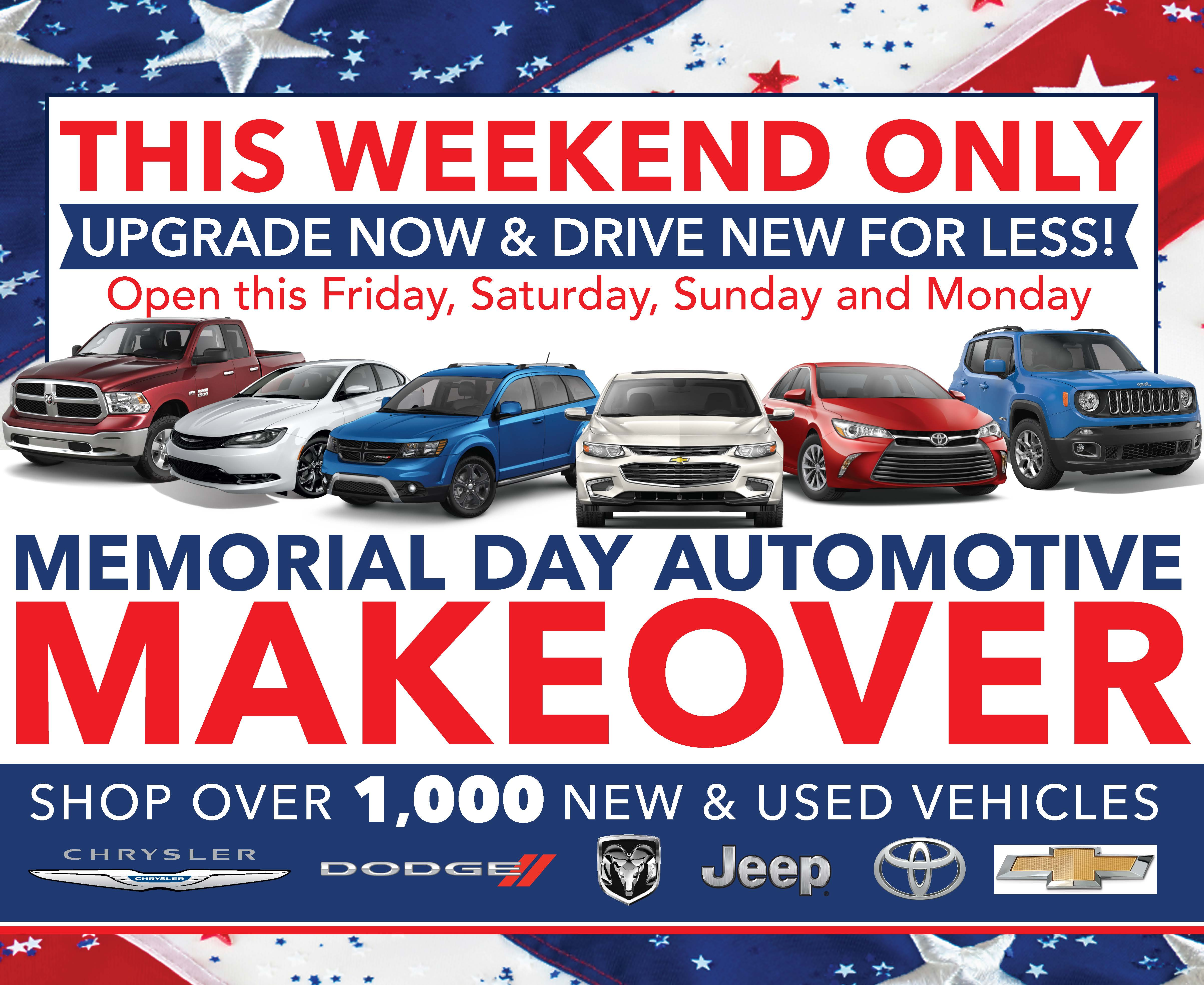 - Memorial Day Makeover | In-Store Poster