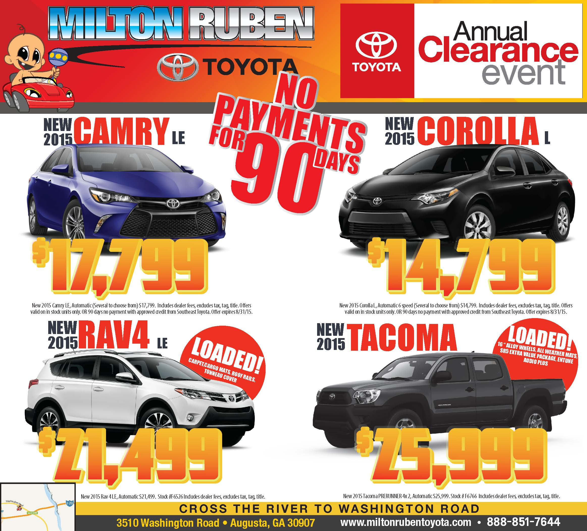 - Annual Clearance Event | Newspaper Ad