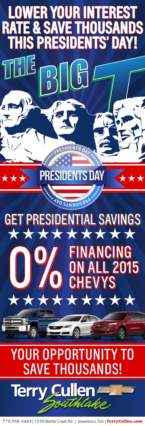 - Get Presidential Savings